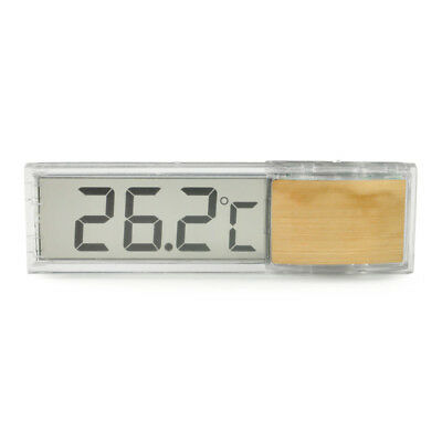 A LCD Digital Thermometer Fish Aquarium Tank Water Temperature Meter Measurement