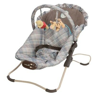 Safety 1st Disney Baby Winnie the Pooh Snug Fit Folding Infant Bouncer Seat -NEW