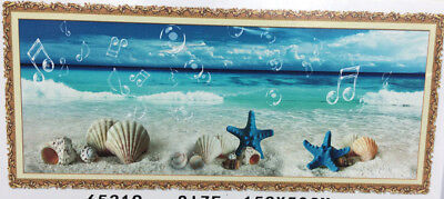 1 x 5D Diamond Painting Seaside Nautical Beach Scene Beading Picture
