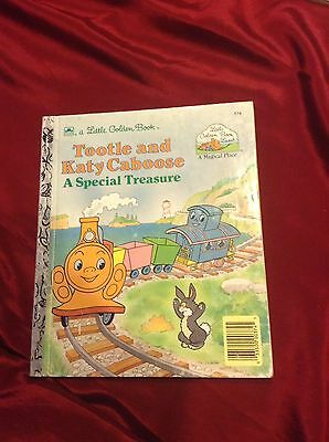 Little Golden Book- Tootle & Katy Caboose
