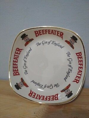Vintage Collectible Beefeater Gin  Advertising Bowl by Wade