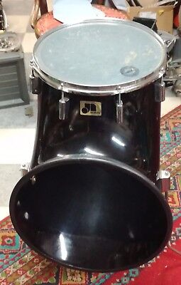 "North 14"" fiberglass tom tom vintage RARE 1970's"