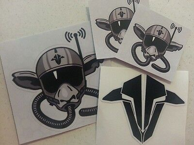 TBS Team Black Sheep Squad Drone Quadcopter Racing FPV Sticker Decal - 4 Pack!