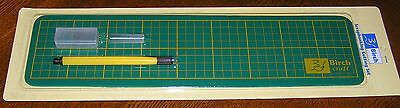 Cutting Mat & Cutter Birch Quality Scrapbooking Crafting Long Narrow Space Saver