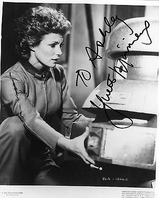 YVETTE MIMIEUX - HAND SIGNED  8 x 10 PHOTOGRAPH.
