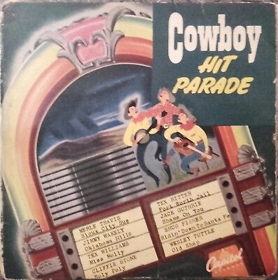 Cowboy Hit Parade  Rock N Roll  Double French Ep