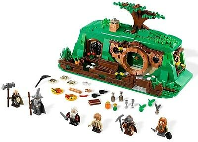 Lego The Hobbit 79003 AN UNEXPECTED GATHERING No box/instructions NEW sealed bag