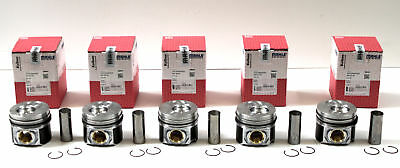 VW Volkswagen Touareg, Multivan & Transporter 2.5 TDi Set of 5 Pistons