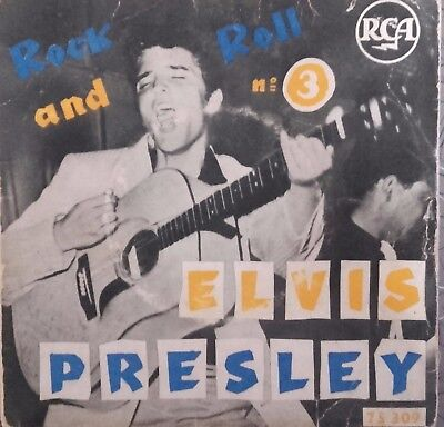 Rare Elvis Presley   Ep    Rca 75 309 French Press   La Batterie
