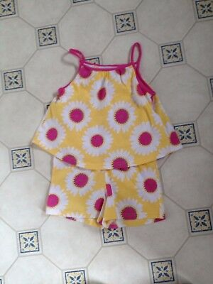 Girls Marks & Spencers Playsuit Age 3-4 VGC