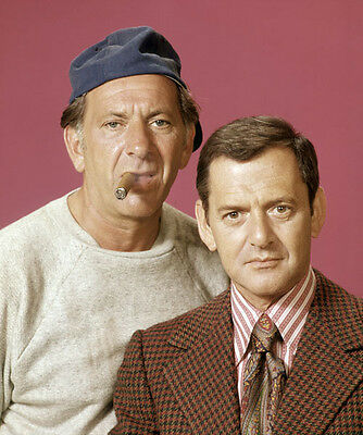 The Odd Couple - Jack Klugman & Tony Randall - Hand Signed Cards.