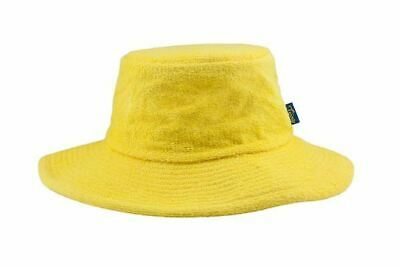 Terry Towelling Bucket Hat Wide Brim Sun Protection Cotton Camping Quality