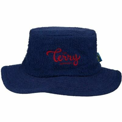 Terry Towelling Bucket Hat Narrow Brim Fishing Camping Cricket Aussie Sun Hat