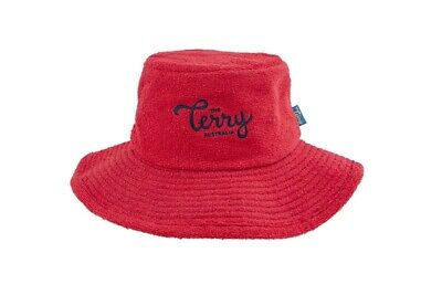 The Barbie Terry Towelling Bucket Hat Retro Sun Hat