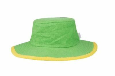 Aussie Bucket Hat Sun Protection Terry Towelling Fishing Camping Cotton Green