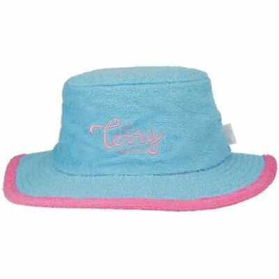 d7d87af3 LACOSTE CLASSIC BEACH Bucket Hat Women's Sz 2 POWDER BLUE - TERRY ...