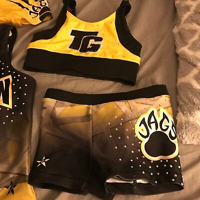 Top Gun Cheer Outifts youth small