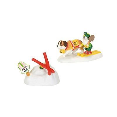 New Department 56 North Pole Series Paws To The Rescue