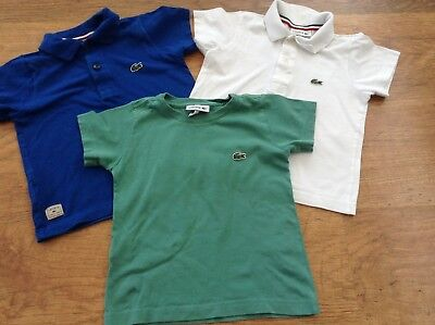 Lacoste  Boys Small Bundle Of Designer Tops 2Yrs