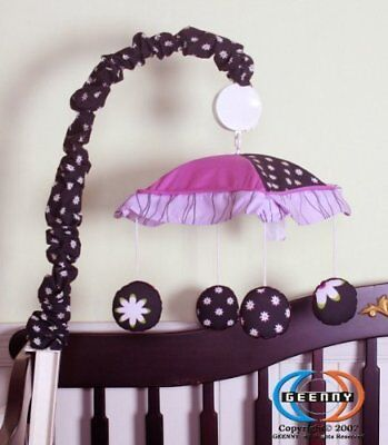 GEENNY Musical Mobile, Boutique Charming Flower