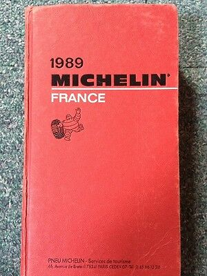 Guide Michelin France 1989