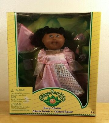 Nib Cabbage Patch Kids Fantasy Collection African American Doll Pink Princess