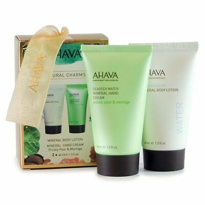 Ahava: Elements of Love Natural Charms - Mineral Body Lotion + Handcream
