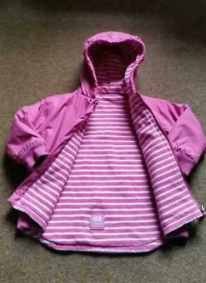 JoJo Maman Bebe Reversible Winter Coat age 3-4