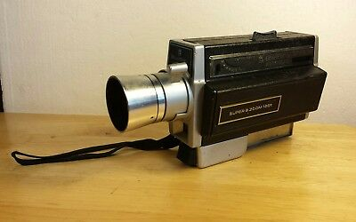 Vintage Bell & Howell Autoload Super 8 Zoom Model 1201