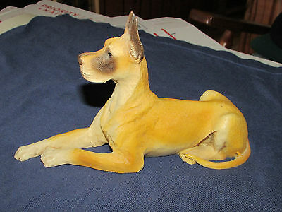 Great Dane Fawn Dog Figure Castagna Made in Italy