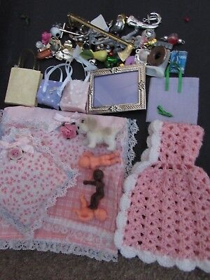 Lot Of Doll House Items