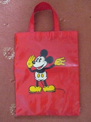 Mickey Mouse Red Mini Tote Bag