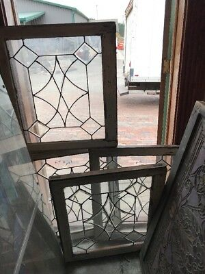 Sg 1577 4 Available Price Each Leaded Beveled Window 25 X 28.5