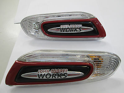 Brand New Genuine MINI F56/F57 JCW Wing Indicator Lamp Set