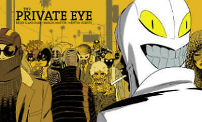 The Private Eye by Brian K Vaughan (author), Marcos Martin (artist)