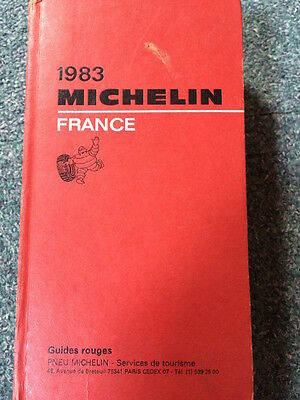 Guide Michelin France 1983