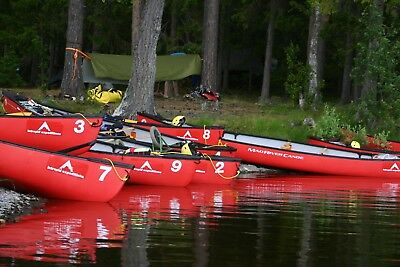 Canoe Expedition in Sweden 20th-27th July 2018 Deposit price.