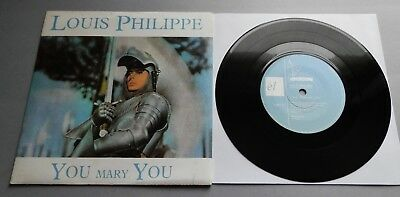 """Louis Philippe - You Mary You 1987 El Records 7"""" Single P/S"""