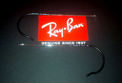 RayBan  Replacement temples Silver  all Aviator 55 3025-3026-3029-3030-3138