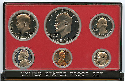 1977 United States Proof Coin Set - U.S. Mint Official