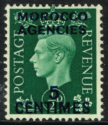 Sg 230 Morocco Agencies (French) 1937 - Halfpenny Green - Mounted Mint