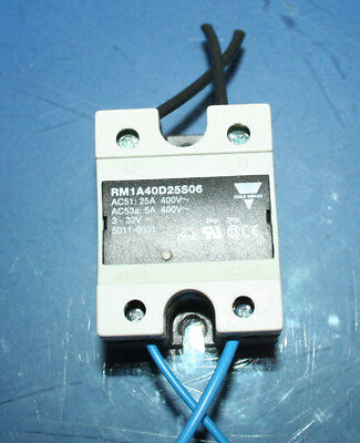 Carlo Gavazzi Solid State Relay RM1A40D25S06 (AC51: 25A400v)(AC53a: 5A400v) 3-32