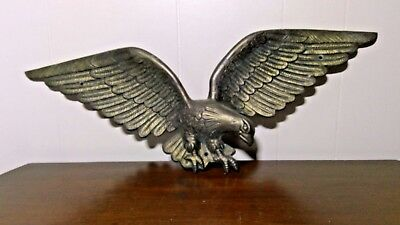 """Vintage Brass American Eagle Numbered """"7028"""" and """"24"""""""