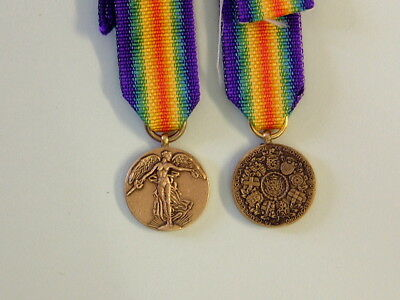 A Miniature of the WWI Victory Medal for Belgium