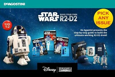 Build Your Own R2 D2 - Magazine ( NEW STOCK ) Star Wars r2d2 By DeAgostini