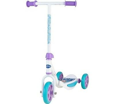 Disney frozen girls three wheel scooter bnib