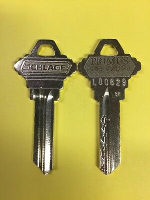 Schlage Primus Level 2 Key Blanks 35-157 468 CP