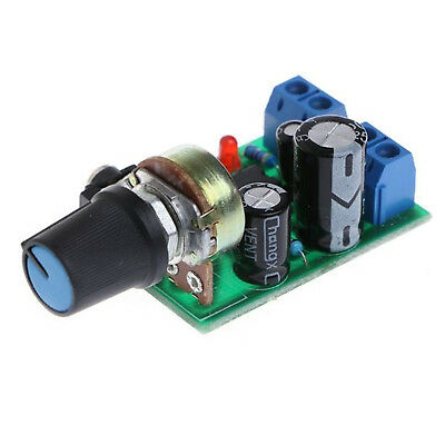 LM386 Mini Audio Power Amplifier Board Adjustable Volume DC 3V~12V Module HIGH