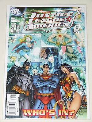 Justice League of America (2006 DC) #0 J. Scott Campbell Incentive Variant cover