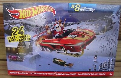 Hot Wheels Advent Calendar Kids Hot Wheels Cars Toys Christmas Advent Calendar